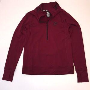 Victoria's secret ULTIMATE quarter zip sweatshirt